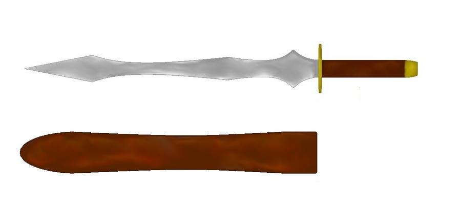 Angeli Sanguis - Shiro's Dagger by YueShirosaki