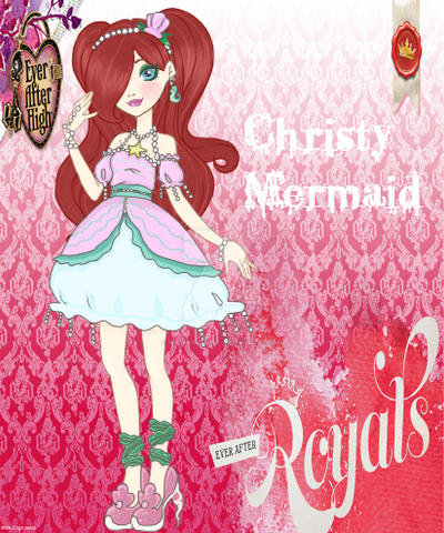 EAH Royal OC: Christy Mermaid by MonahellLawliet