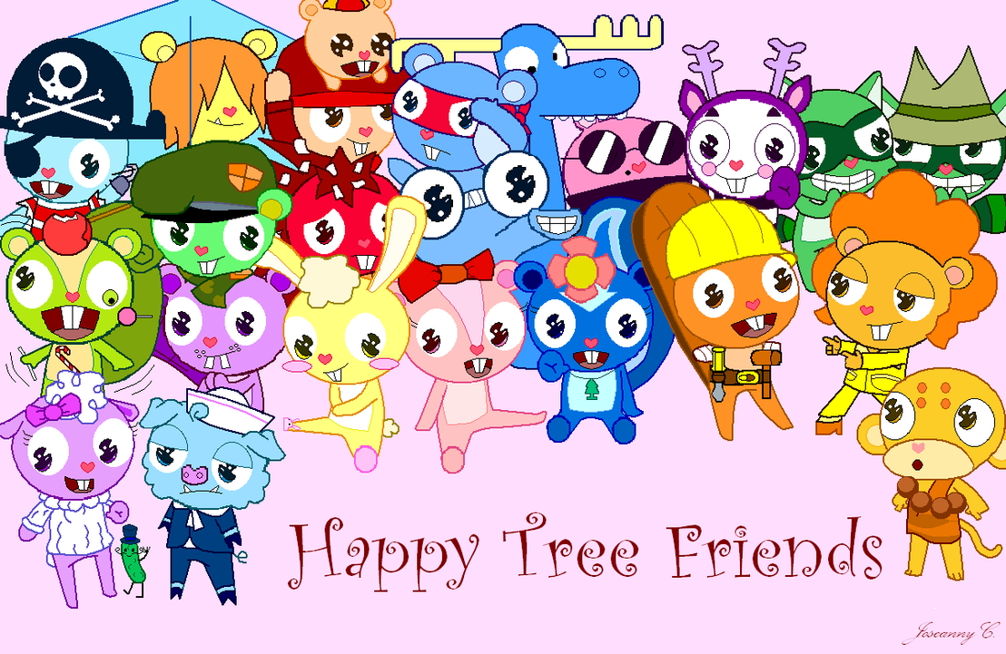 Pictures of All Happy Tree Friends Characters Names - #rock-cafe