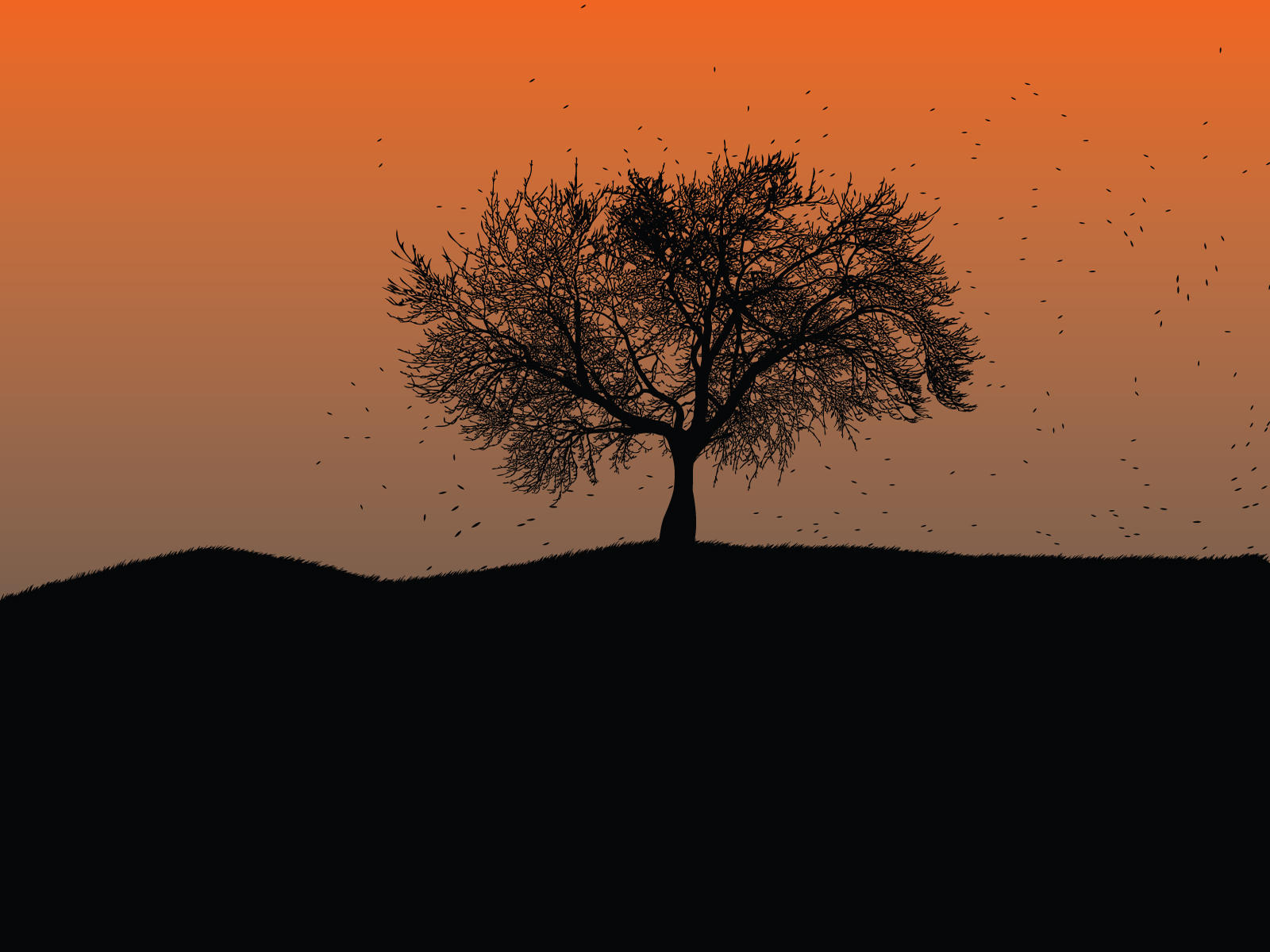 Lone tree wallpaper 1 by cheduardo2k on deviantART
