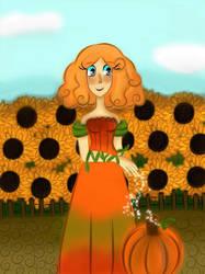 Pumpkin Witch by HornedVeles