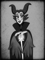 Malificent by HornedVeles