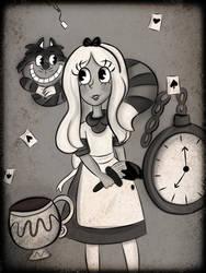 Alice in wonderland by HornedVeles