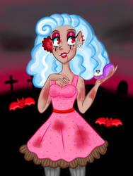 Vampire babe by HornedVeles