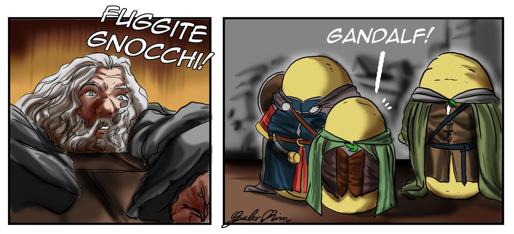 Fuggite! by Caedes-art