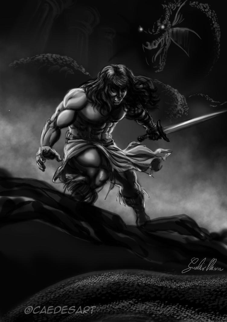 Conan by Caedes-art