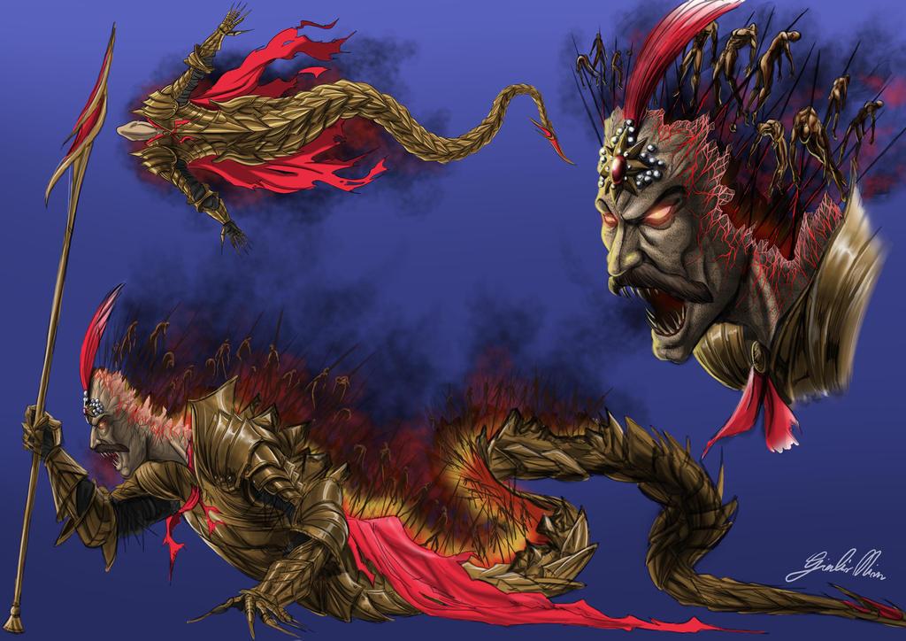 Demon Vlad by Caedes-art