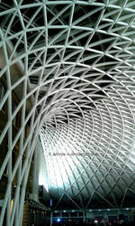 King X rail station, London, UK by Aditiya-IR
