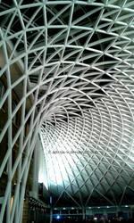 King X rail station, London, UK