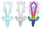 Rainbow Sword Concepts