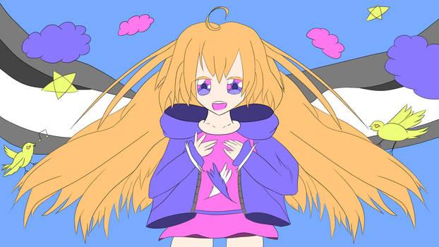 Some random angel girl