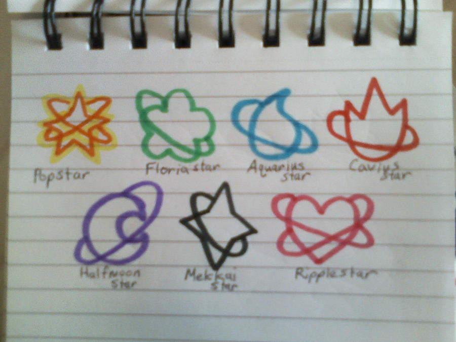 Dream Senshi Symbols By Ssoldiersaturn On Deviantart