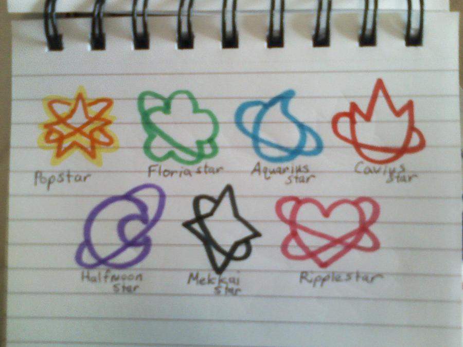Dream Senshi Symbols By Ssoldiersaturn On Deviantart