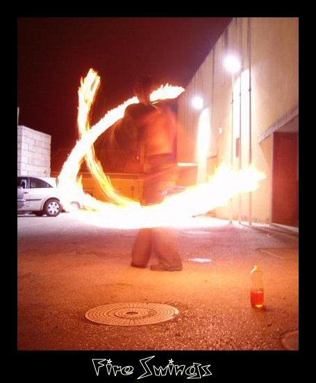 Fire Swings by princ3sa