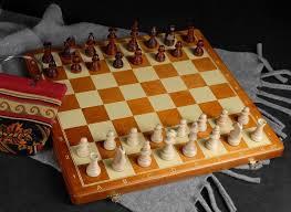 Holz Schachspiel
