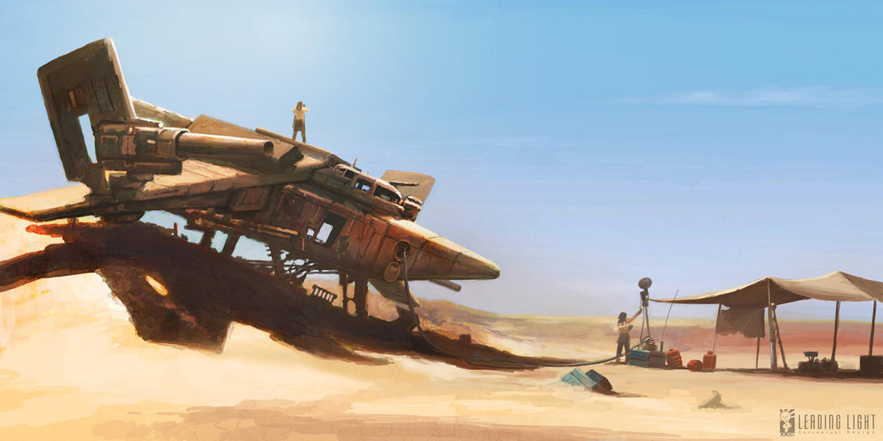 Stranded on Arrakis by PeteAmachree