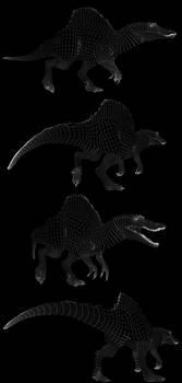 Spinosaurus wires