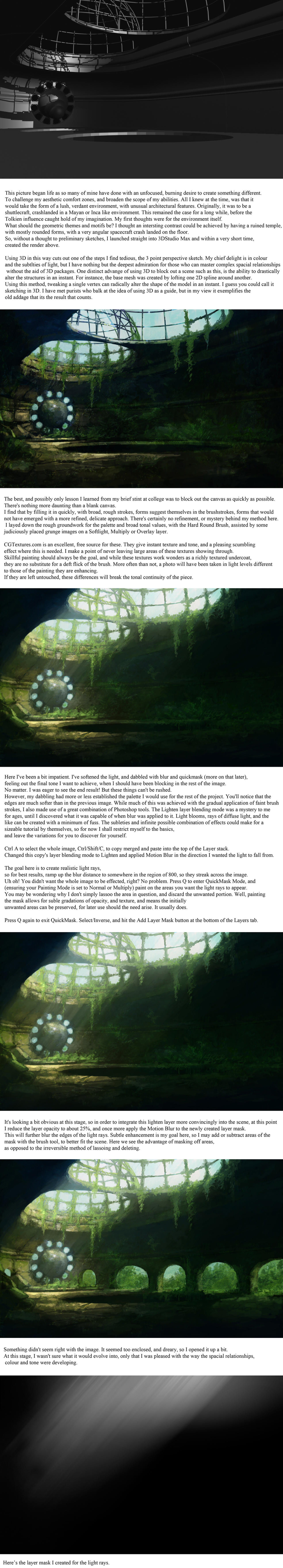 Ruins of Doriath tutorial by PeteAmachree