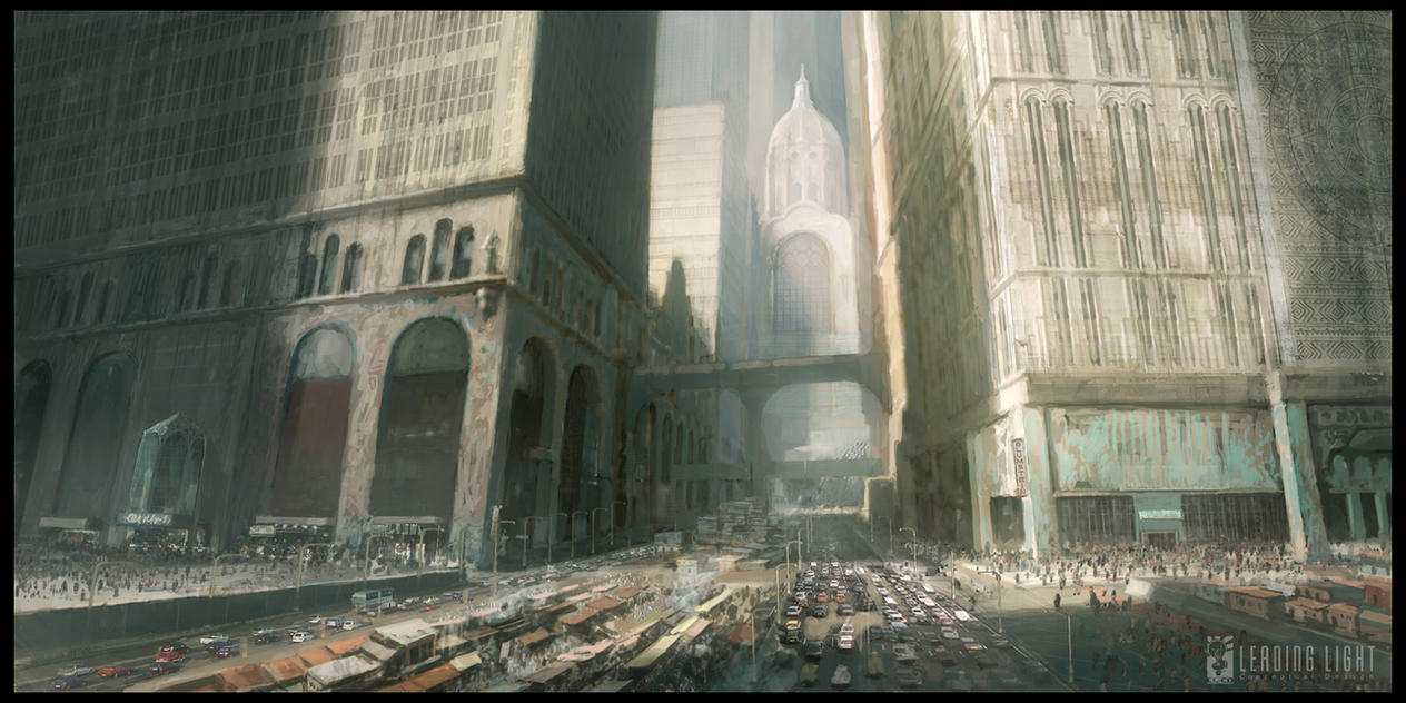 future city 2 by PeteAmachree