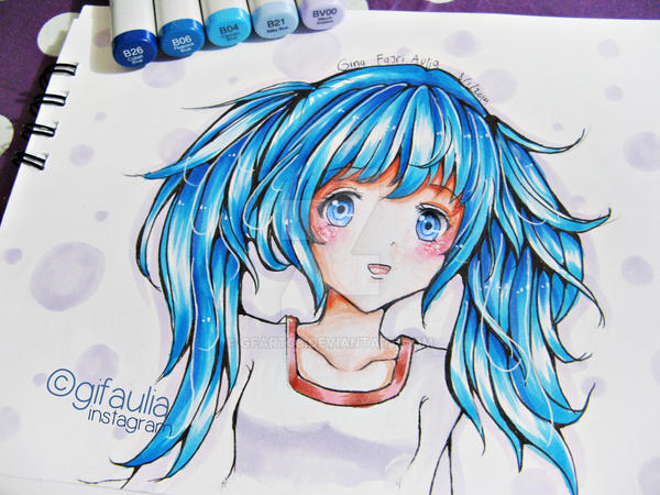 how to put highlights in anime hair coloring in photoshop