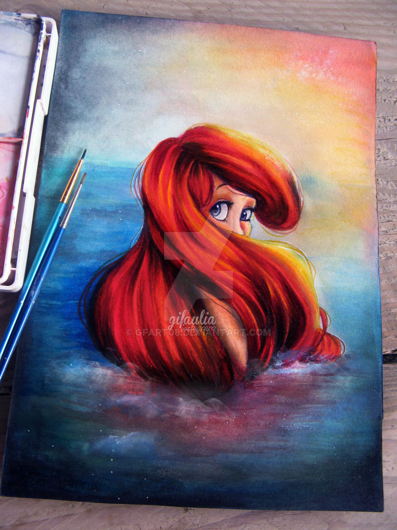 Little Mermaid by GFArt08