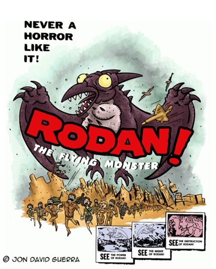 RODAN by JonDavidGuerra