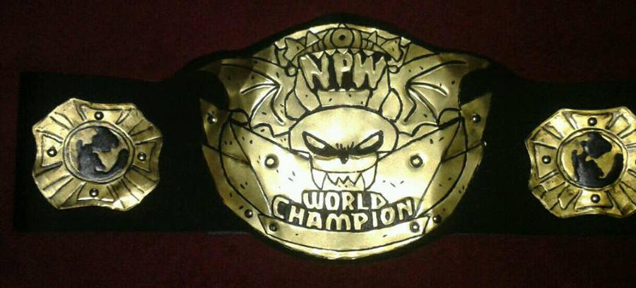 NPW Championship Belt by Asteroid Belt Company by JonDavidGuerra