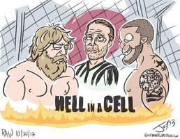 Hell in a Cell 2013 - JonDavidGuerra by JonDavidGuerra