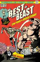 CM Punk vs Brock Lesnar by Jon David Guerra by JonDavidGuerra