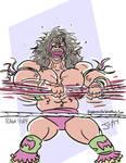 Ultimate Warrior by Jon David Guerra