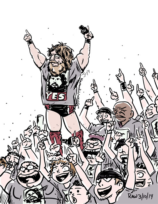 Daniel Bryan Yes Movement by JonDavidGuerra on DeviantArt