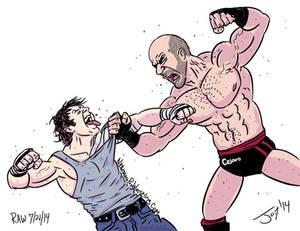 Dean Ambrose vs Cesaro