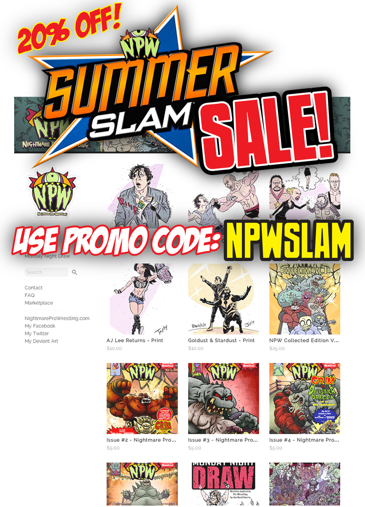 NPW SUMMER SLAM SALE! by JonDavidGuerra