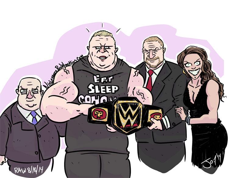 Wwe World Heavyweight Championship Belt 2014 Brock Lesnar Brock Lesnar WW...