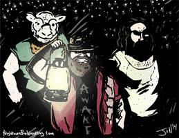 The Wyatt Family - Monday Night Draw Halloween!