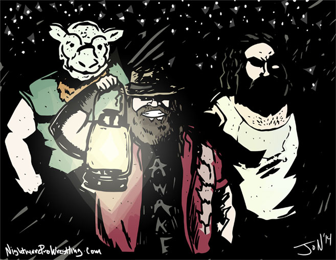 The Wyatt Family - Monday Night Draw Halloween! by JonDavidGuerra