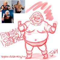 Dusty Rhodes by JonDavidGuerra
