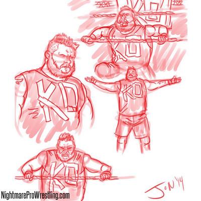 Monday Night Draw: NXT by JonDavidGuerra