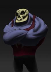 Skull Fanart By Lt-Metamorphose-LT