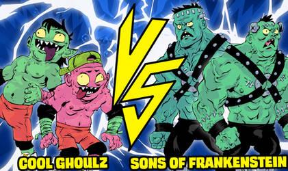 Cool Ghoulz Vs. Sons of Frankenstein