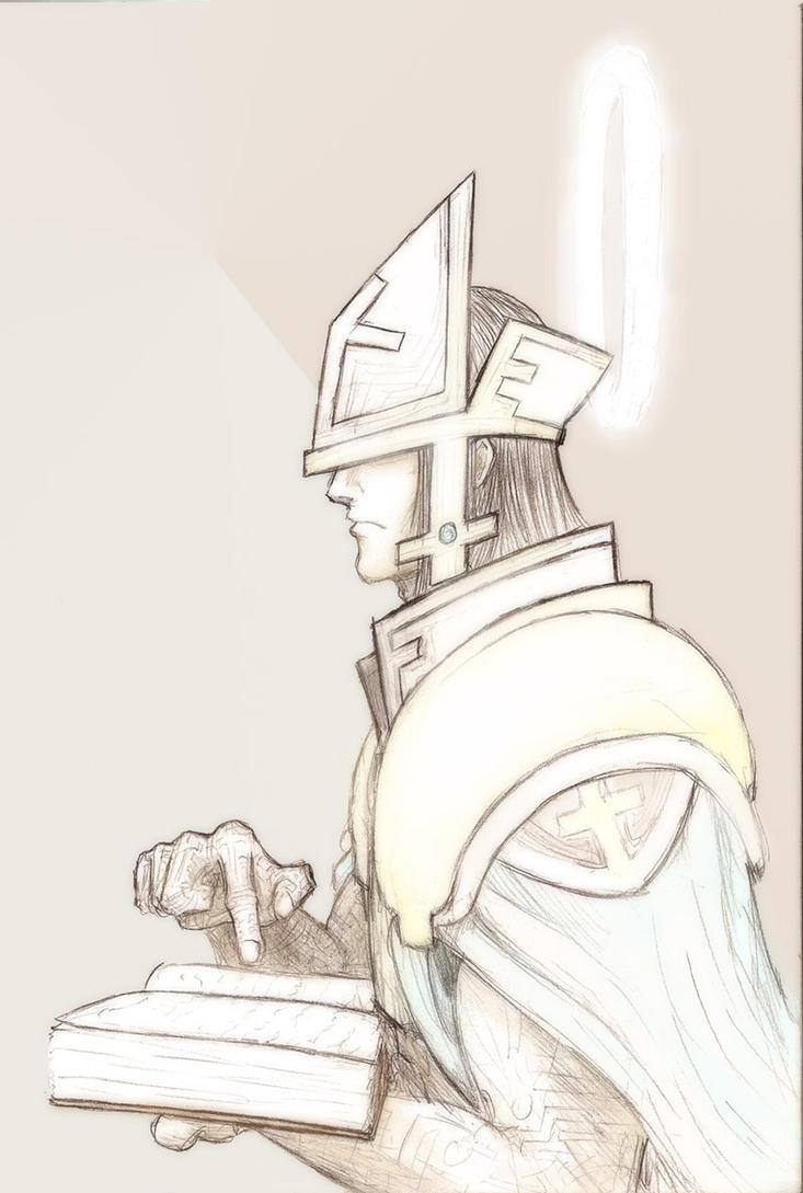 Battle Priest by Cythus