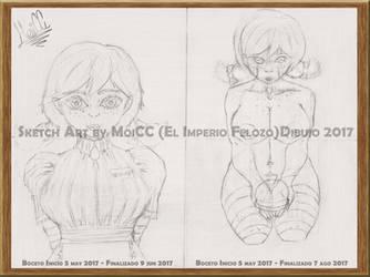 Wendy's Sketch Art RETRO TREND by EMPERADO-RFELOZO