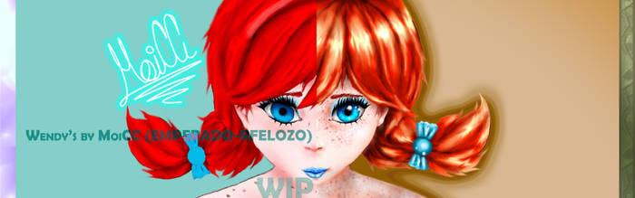 Wendy's - WIP - Antes y Despues by EMPERADO-RFELOZO