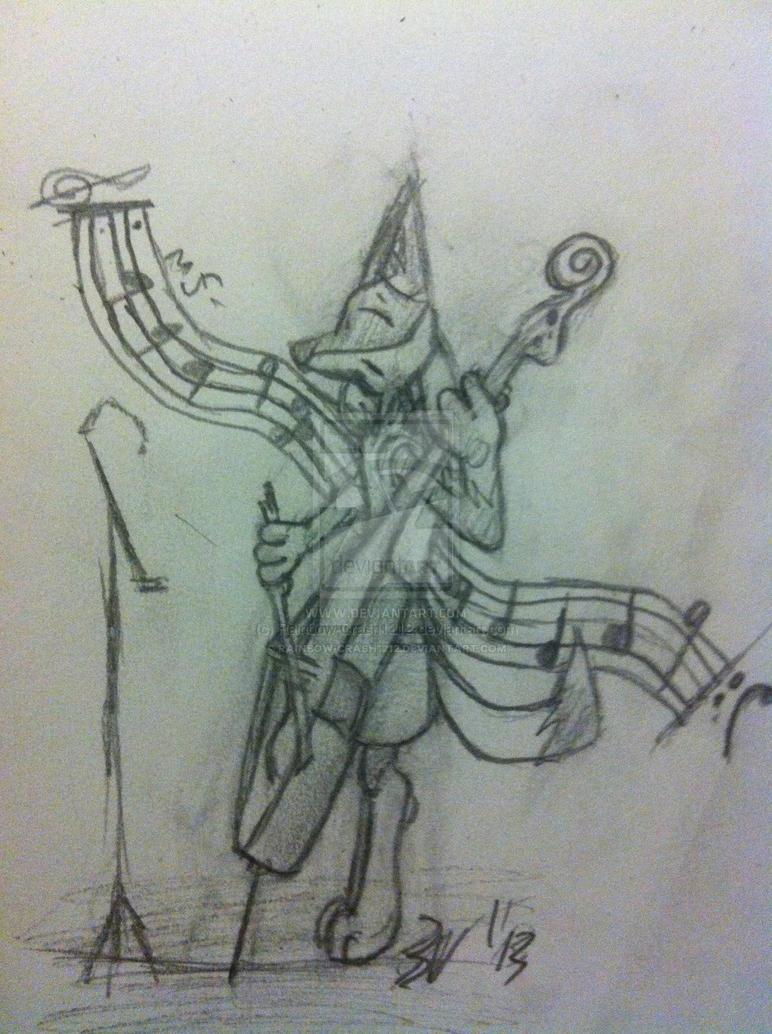 The Bassist by Rainbow-Crash1212