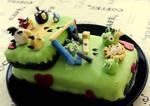 Angry birds-cake