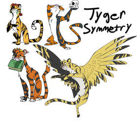 Symmetry Tygers by Wolfy-T