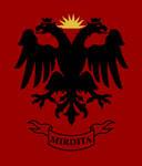 Flag of the Albanian region of Mirdite