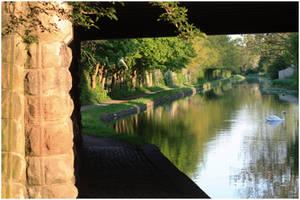 Landscape of Ilkeston Canal by DawsonDesigns