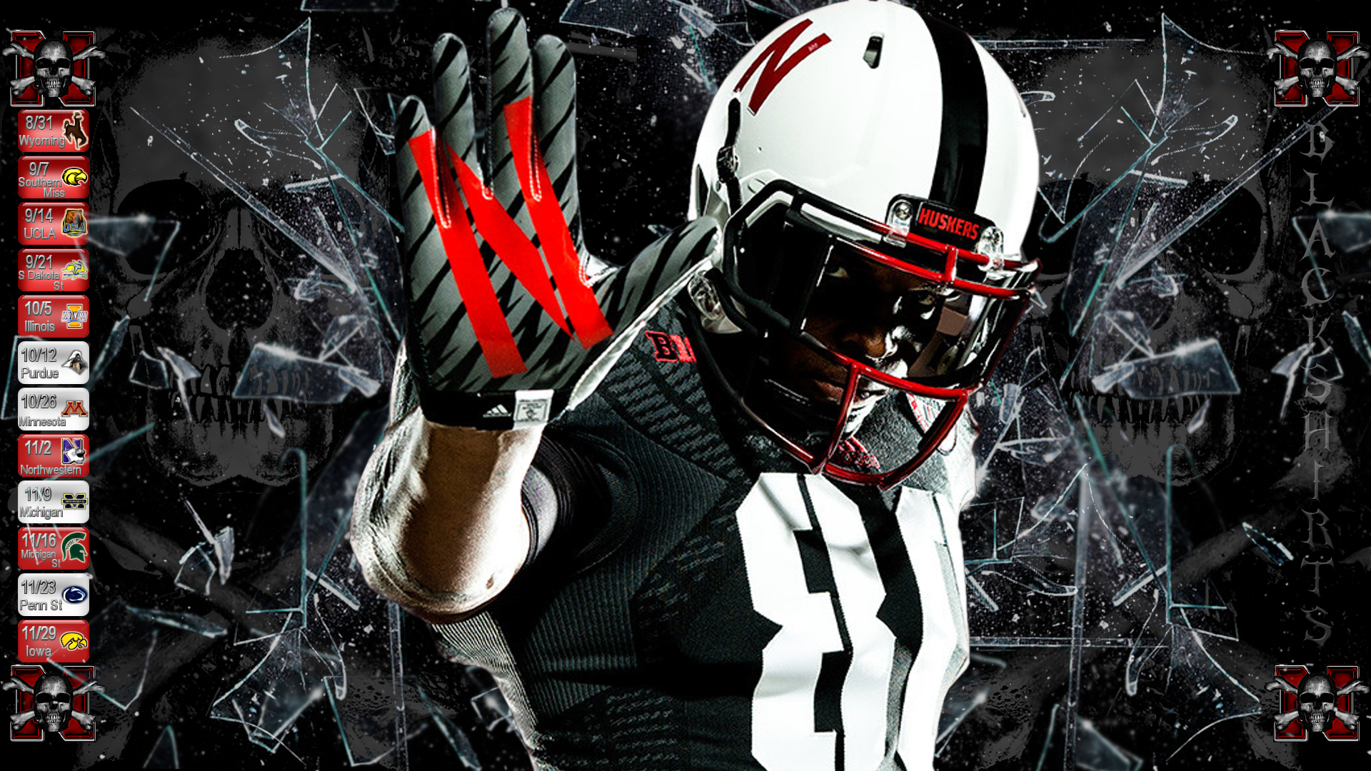 huskers wallpaper