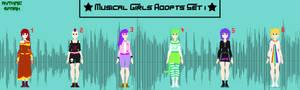 Musical Girls Adopts Set 1 -- 6/6 OPEN!
